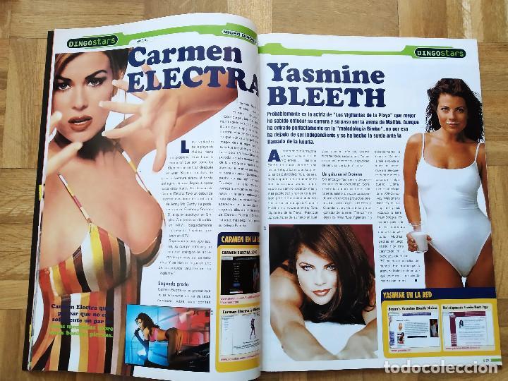 Coleccionismo de Revistas y Periódicos: REVISTA MICRO DINGO 23. PAMELA ANDERSON. SABRINA SALERNO. CARMEN ELECTRA LA MOMIA. - Foto 5 - 252914460