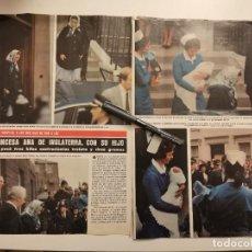 Coleccionismo de Revistas y Periódicos: PRINCESA ANA DE INGLATERRA 4 PÁGINAS REVERSO SANCHO GRACIA CURRO JIMÉNEZ RECORTE REVISTA 1977. Lote 253019770