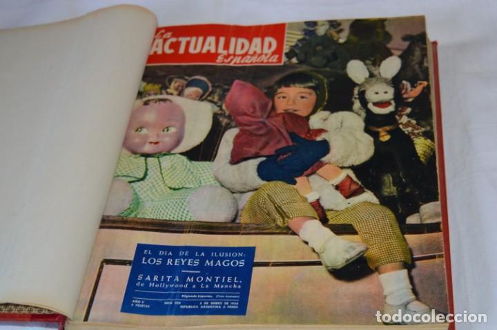 LA ATUALIDAD ESPAÑOLA / ENERO A ABRIL 1956 / ORIGINAL, ANTIGUA / MUCHA PUBLICIDAD DE LA ÉPOCA ¡MIRA! (Coleccionismo - Revistas y Periódicos Modernos (a partir de 1.940) - Otros)