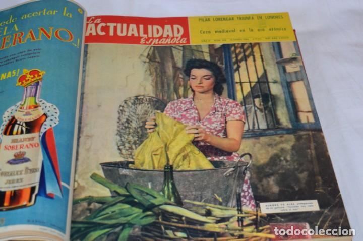 Coleccionismo de Revistas y Periódicos: La ATUALIDAD Española / Enero a Abril 1956 / Original, antigua / Mucha publicidad de la época ¡Mira! - Foto 6 - 253111600