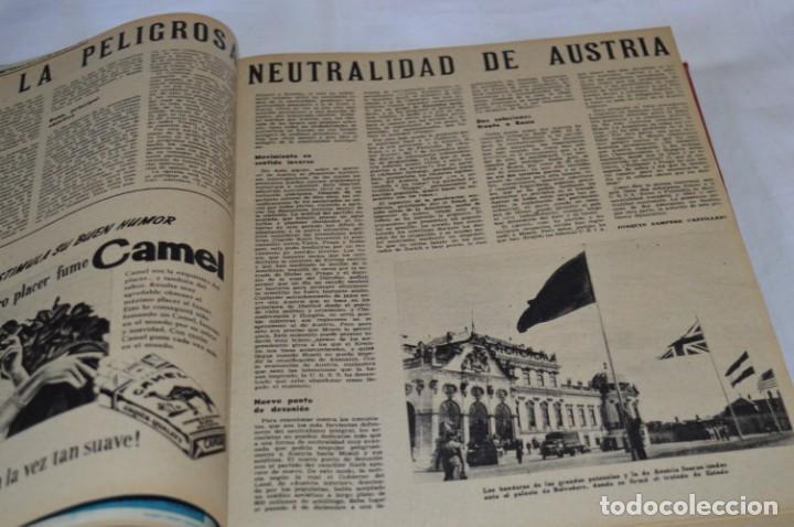 Coleccionismo de Revistas y Periódicos: La ATUALIDAD Española / Enero a Abril 1956 / Original, antigua / Mucha publicidad de la época ¡Mira! - Foto 7 - 253111600