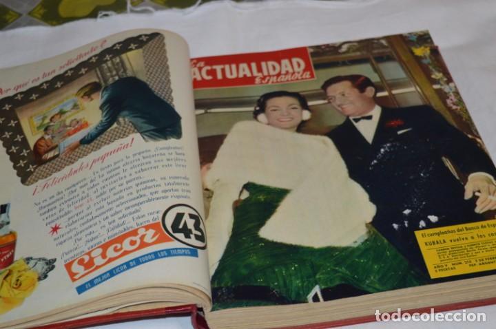 Coleccionismo de Revistas y Periódicos: La ATUALIDAD Española / Enero a Abril 1956 / Original, antigua / Mucha publicidad de la época ¡Mira! - Foto 10 - 253111600