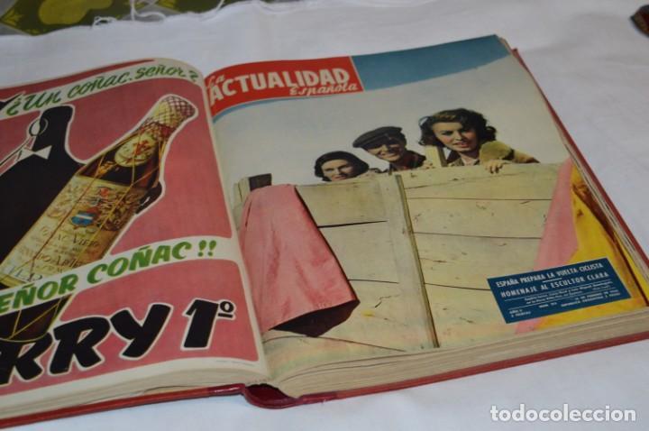 Coleccionismo de Revistas y Periódicos: La ATUALIDAD Española / Enero a Abril 1956 / Original, antigua / Mucha publicidad de la época ¡Mira! - Foto 12 - 253111600
