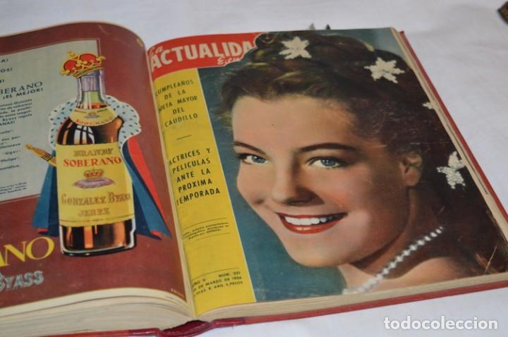 Coleccionismo de Revistas y Periódicos: La ATUALIDAD Española / Enero a Abril 1956 / Original, antigua / Mucha publicidad de la época ¡Mira! - Foto 16 - 253111600