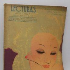 Coleccionismo de Revistas y Periódicos: LECTURAS JUNIO 1933. Lote 253229515