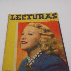 Coleccionismo de Revistas y Periódicos: LECTURAS JULIO 1944. Lote 253229620