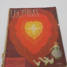 Coleccionismo de Revistas y Periódicos: LECTURAS 1941. Lote 253230060