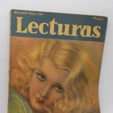 Coleccionismo de Revistas y Periódicos: LECTURAS MAYO 1933. Lote 253230490