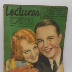 Coleccionismo de Revistas y Periódicos: LECTURAS ENERO 1930. Lote 253230605