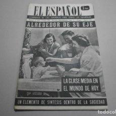 Coleccionismo de Revistas y Periódicos: ANTIGUA REVISTA EL ESPAÑOL 1958 Nº 492 COMPLETA BUEN ESTADO. Lote 253292375