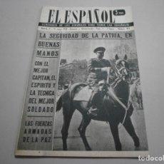 Coleccionismo de Revistas y Periódicos: ANTIGUA REVISTA EL ESPAÑOL 1958 Nº 492 COMPLETA BUEN ESTADO. Lote 253292485