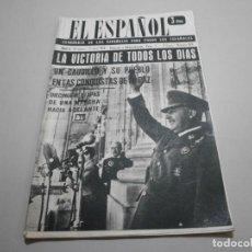 Coleccionismo de Revistas y Periódicos: ANTIGUA REVISTA EL ESPAÑOL 1958 Nº 486 COMPLETA BUEN ESTADO. Lote 253292945