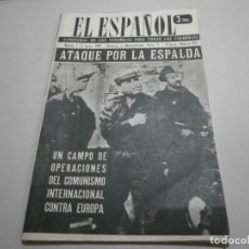 Coleccionismo de Revistas y Periódicos: ANTIGUA REVISTA EL ESPAÑOL 1958 Nº 483 COMPLETA BUEN ESTADO. Lote 253293320