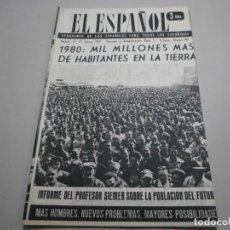 Coleccionismo de Revistas y Periódicos: ANTIGUA REVISTA EL ESPAÑOL 1958 Nº 481 COMPLETA BUEN ESTADO. Lote 253293475