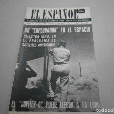 Coleccionismo de Revistas y Periódicos: ANTIGUA REVISTA EL ESPAÑOL 1958 Nº 480 COMPLETA BUEN ESTADO. Lote 253293625