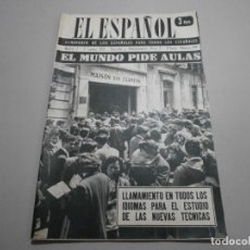 Coleccionismo de Revistas y Periódicos: ANTIGUA REVISTA EL ESPAÑOL 1958 Nº 479 COMPLETA BUEN ESTADO. Lote 253294055