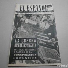 Coleccionismo de Revistas y Periódicos: ANTIGUA REVISTA EL ESPAÑOL 1958 Nº 478 COMPLETA BUEN ESTADO. Lote 253294430