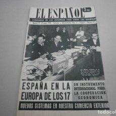 Coleccionismo de Revistas y Periódicos: ANTIGUA REVISTA EL ESPAÑOL 1958 Nº 477 COMPLETA BUEN ESTADO. Lote 253294625