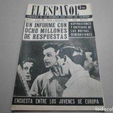 Coleccionismo de Revistas y Periódicos: ANTIGUA REVISTA EL ESPAÑOL 1958 Nº 475 COMPLETA BUEN ESTADO. Lote 253294875