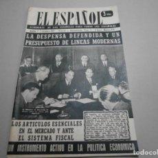Coleccionismo de Revistas y Periódicos: ANTIGUA REVISTA EL ESPAÑOL 1957 Nº 470 COMPLETA BUEN ESTADO. Lote 253298290