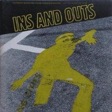 Coleccionismo de Revistas y Periódicos: INS AND OUTS Nº 2. REVISTA ALTERNATIVA DE ARTE, MÚSICA Y POESIA. AMSTERDAM 1978. Lote 253408170