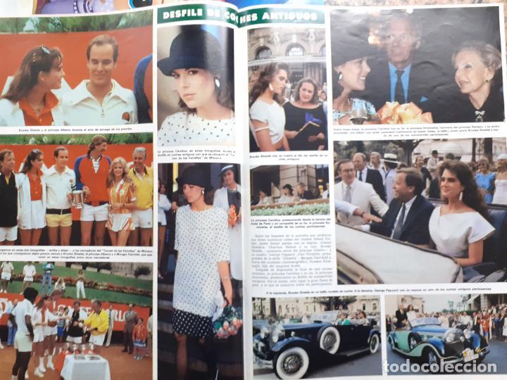 Coleccionismo de Revistas y Periódicos: ALBERTO DE MONACO BROOKE SHIELDS JOHN FORSYTHE JOHN PEPPARD CAROLINA DE MONACO - Foto 2 - 253575530
