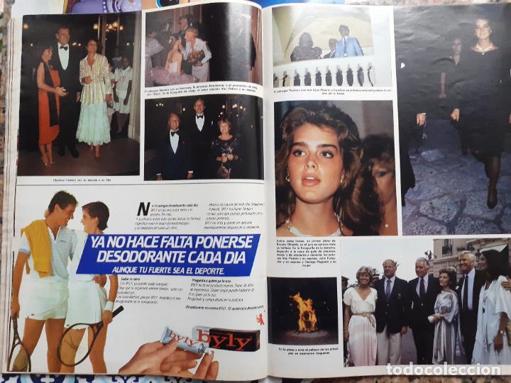 Coleccionismo de Revistas y Periódicos: ALBERTO DE MONACO BROOKE SHIELDS JOHN FORSYTHE JOHN PEPPARD CAROLINA DE MONACO - Foto 3 - 253575530