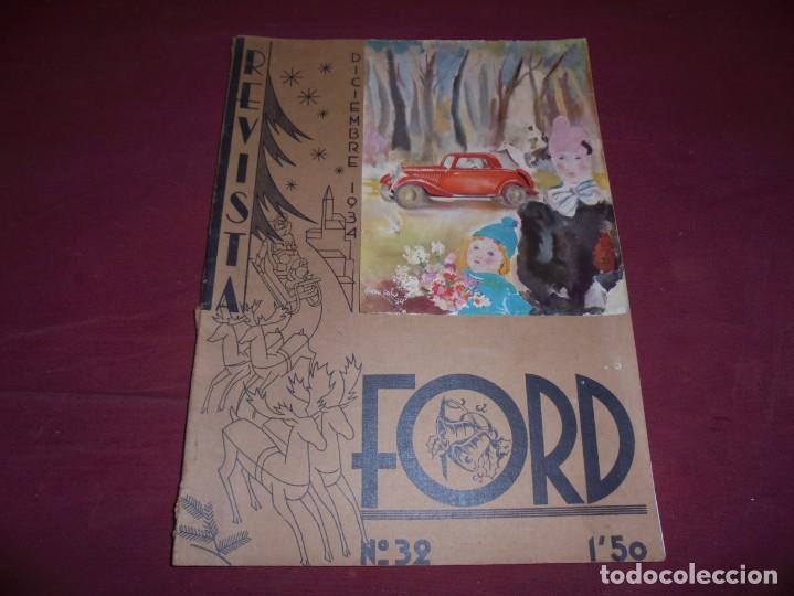 MAGNIFICAS 3 REVISTAS ANTIGUAS EDITADAS POR FORD (Coleccionismo - Revistas y Periódicos Antiguos (hasta 1.939))