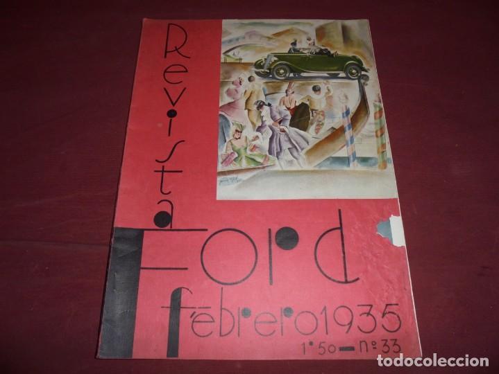 Coleccionismo de Revistas y Periódicos: magnificas 3 revistas antiguas editadas por ford - Foto 3 - 253883455