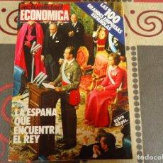 Coleccionismo de Revistas y Periódicos: ACTUALIDAD ECONOMICA Nº 924 LA ESPAÑA QUE ENCUENTRA EL REY. Lote 253889680