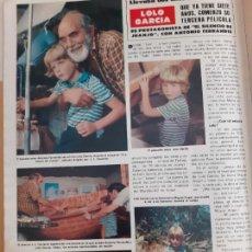 Coleccionismo de Revistas y Periódicos: ANTONIO FERRANDIS CHANQUETE LOLO GARCIA. Lote 254052920