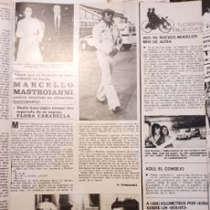 Coleccionismo de Revistas y Periódicos: MARCELLO MASTROIANNI. Lote 254054085