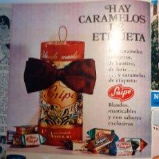 Coleccionismo de Revistas y Periódicos: ANUNCIO CARAMELOS SNIPE. Lote 254054175