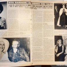 Coleccionismo de Revistas y Periódicos: AVA GARDNER. Lote 254054965
