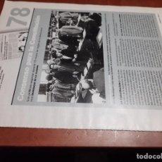 Coleccionismo de Revistas y Periódicos: NACIMIENTO DE LA CONSTITUCIÓN. 6 PÁGINAS. ARTICULO EXTRAIDO DE UNA REVISTA. BUEN ESTADO.. Lote 254070220