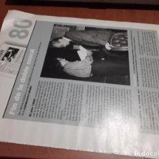 Coleccionismo de Revistas y Periódicos: DIVORCIO. NACIMIENTO DE LA LEY. 2 PÁGINAS. ARTICULO EXTRAIDO DE UNA REVISTA. BUEN ESTADO.. Lote 254070865
