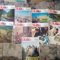 Coleccionismo de Revistas y Periódicos: 9 REVISTA REAL AUTOMÒBIL CLUB. Lote 254177730