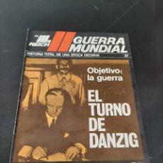 Coleccionismo de Revistas y Periódicos: NOGUER: EL TERCER REICH, FASCÍCULO. Lote 254230325