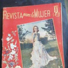 Coleccionismo de Revistas y Periódicos: REVISTA PARA LA MUJER. MARZO 1944. Lote 254352775