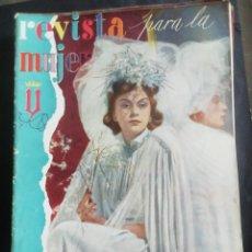 Coleccionismo de Revistas y Periódicos: REVISTA PARA LA MUJER. MAYO 1944. Lote 254354615