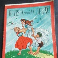 Coleccionismo de Revistas y Periódicos: REVISTA PARA LA MUJER. SEPTIEMBRE 1944. Lote 254357415