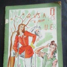 Coleccionismo de Revistas y Periódicos: REVISTA PARA LA MUJER. OCTUBRE1944. Lote 254357960