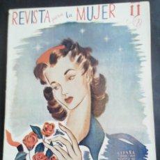 Coleccionismo de Revistas y Periódicos: REVISTA PARA LA MUJER. FEBRERO 1945. Lote 254359565