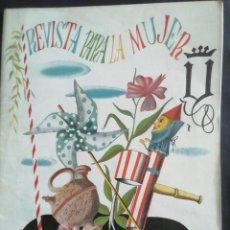Coleccionismo de Revistas y Periódicos: REVISTA PARA LA MUJER. JUNIO 1945. Lote 254359925
