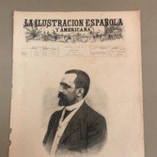 Coleccionismo de Revistas y Periódicos: PORTADA DEL PERIÓDICO ILUSTRACIÓN ESPAÑOLA Y AMERICANA 1836. Lote 254373160