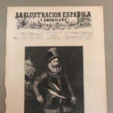 Coleccionismo de Revistas y Periódicos: PORTADA DEL PERIÓDICO ILUSTRACIÓN ESPAÑOLA Y AMERICANA 1896. Lote 254373985