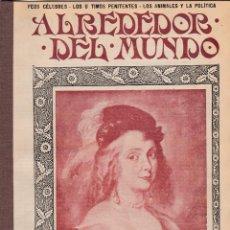 Coleccionismo de Revistas y Periódicos: REVISTA ALREDEDOR DEL MUNDO – 1907 * NUDOS * BASTONES * PLAGAS *. Lote 254378060