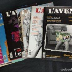 Coleccionismo de Revistas y Periódicos: L'AVENÇ - 12 REVISTAS - AÑO 2017 COMPLETO - Nº 430 AL Nº 441 -. Lote 254493740