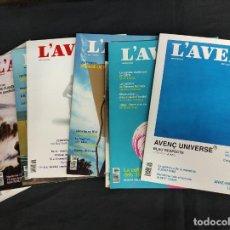Coleccionismo de Revistas y Periódicos: L'AVENÇ - 8 REVISTAS - AÑO 2020 - Nº 464-470 Y 472. Lote 254495305