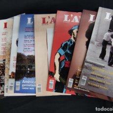 Coleccionismo de Revistas y Periódicos: L'AVENÇ - 11 REVISTAS - AÑO 2019 COMPLETO - Nº 453 AL Nº 463. Lote 254496340